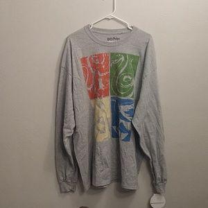 2xl Harry Potter Long sleeve Shirt
